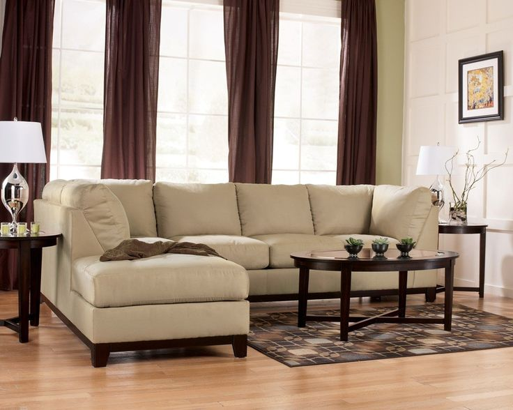 Nice Fusion Khaki Left Chaise Sectional W/dims Http://colemanfurniture.com/