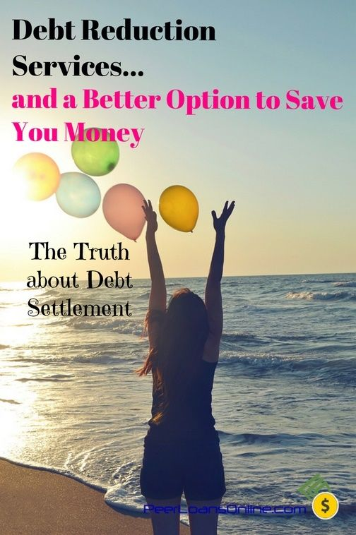 The hard truth about debt reduction services and a better option that will save you thousands of dollars and get you back on track fast.