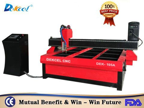 Dekcel 105A/125A Metal Plasma and Flame Cutters CNC Machines For Sale - DEKCELCNC® plasma cutting machine-plasma cutter for sale - Jinan Dekcel Cnc Equipement Co,.Ltd