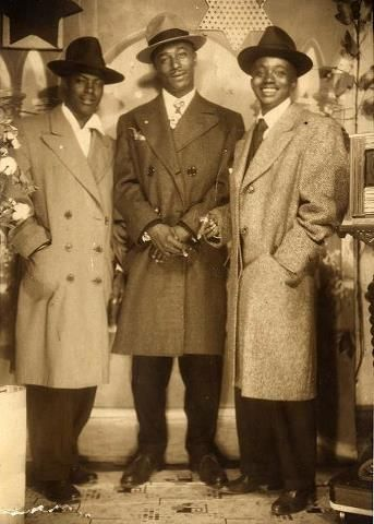Dapper Dans 1935. 1930's Stylish Black Men-Oh my i would have been in love such handsome gentlemen