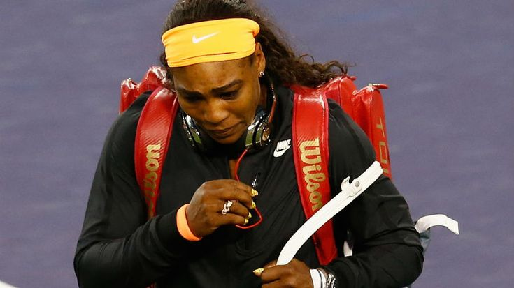 Tearful Serena Williams wins on Indian Wells return, while Britain's Heather Watson is also through   Tennis News   ESPN.co.uk