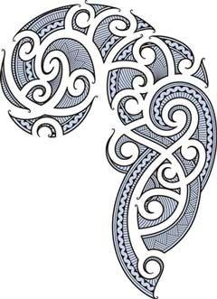 koru designs clip art | Cool Maori Patterns