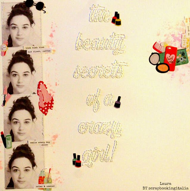 Grani di pepe: The beauty secrets of a crazy girl - Layout