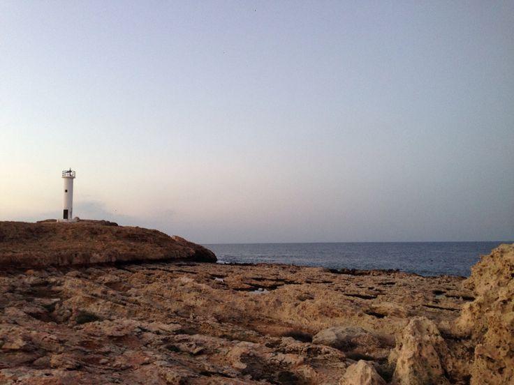 light house in Erenkoy Karpaz North Cyprus