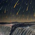 meteor showers 2012 guide dates shooting stars comets leonids