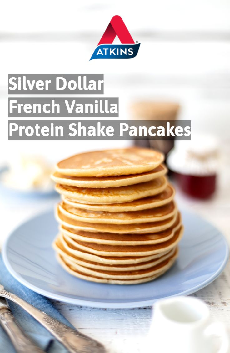 Silver Dollar French Vanilla Protein Shake Pancakes Recipe Low