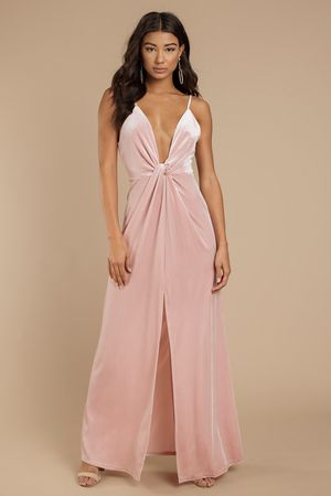 4318d71296db6a Layla Velvet Plunging Maxi Dress in 2019 | Sexy Dresses | Dresses ...
