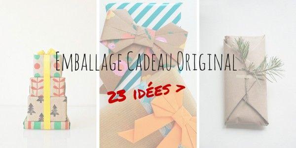 Emballage cadeau original : découvrez 23 idées originales pour emballer vos cadeaux ! Des idées pour les paquets cadeaux à découvrir ici.