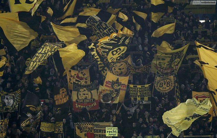 Una cartolina da Dortmund; Borussia Dortmund vs Napoli Borussia Dortmund-Italia Bvb Borussia Dortmund Bvb-Borusia Dortmund Borussia Dortmund - BVB #ultras