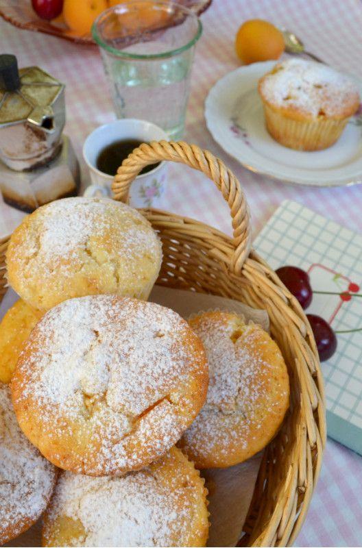 muffin con albicocche #apricot #dolci #dessert