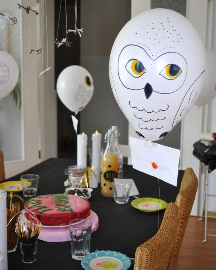 A magical Harry Potter birthday! Deco, recipes & games