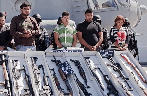 Mexico captures Gulf Cartel leader: navy   The News Tribe