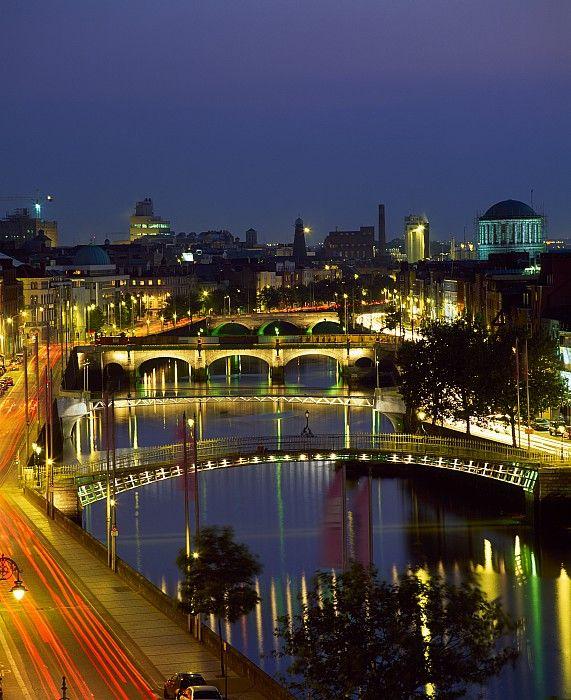 River Liffey Bridges, Dublin, Ireland