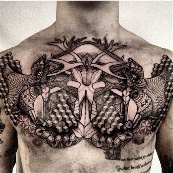 Top 144 Chest Tattoos For Men: 1000+ Ideas About Mens Tattoos Chest On Pinterest