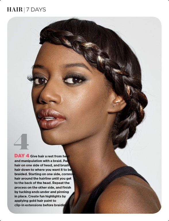 1000 Images About Styles For Relaxer Stretching On