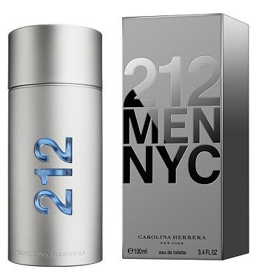 Carolina Herrera 212 Men Eau de Toilette 100ml Carolina Herrera 212 Men Eau de Toilette 100ml-212 Men reveals an essence that is masculine, different, surprising and uniquely attractive. http://www.MightGet.com/february-2017-1/carolina-herrera-212-men-eau-de-toilette-100ml.asp