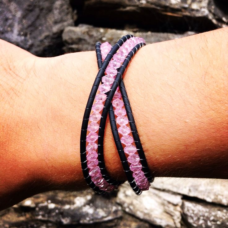 These beautiful new wrap around bracelets come in a range of colours and beads. The perfect way to glam up any outfit!