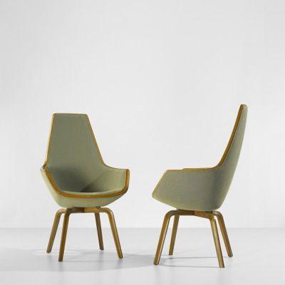 Arne Jacobsen. Арне Якобсен. Giraffe chair. 1959