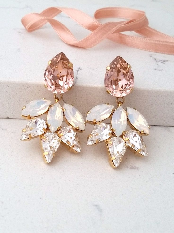 Beautiful, stunning earrings!