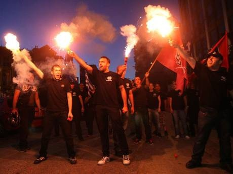 Greece's neo-fascists are on the rise... and now they're going into schools: How Golden Dawn is nurturing the next generation - Europe - World - The Independent
