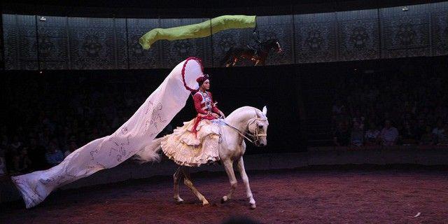 """""""Calacas"""" théâtre équestre inspiré de la fête des morts mexicaine, mis en scène par Bartabas"""