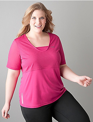 Cute Plus Size Workout Top