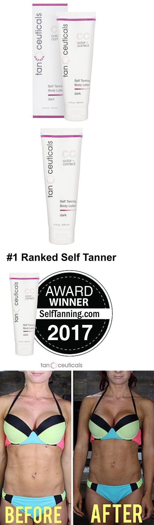 Sunless Tanning Products: Tanceuticals #1 Rated Self Tanner - Cc Self Tanning Lotion For Body Gives -> BUY IT NOW ONLY: $33.28 on eBay!