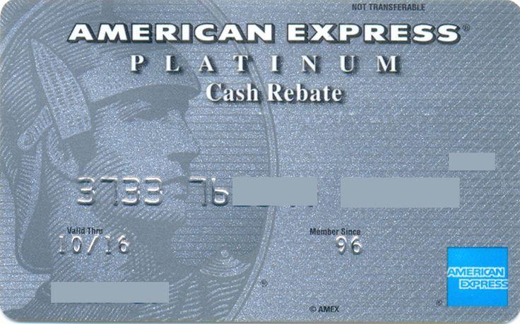 American Express Platinum Cash Rebate CA (AMEX Bank Of Canada, Canada) Col:CA-AE-0014-2
