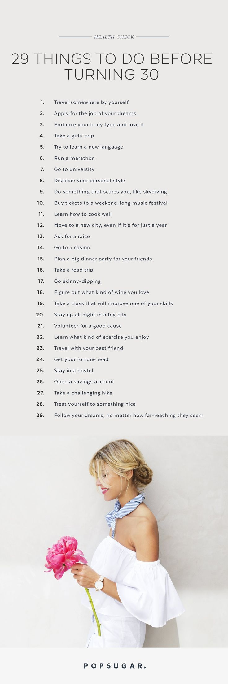 29 Things You Should Do Before Turning 30 – Louisa