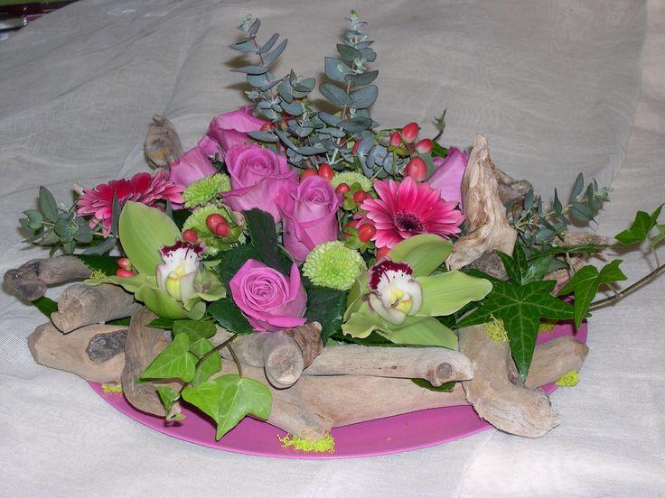 Driftwood Centerpiece, Driftwood Candle Holder - Centerpiece..Δεξιωση γαμου στολισμός στο τραπέζι.φρέσκα άνθη με θαλασσόξυλα