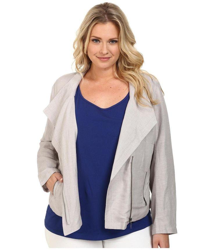 Plus Size Sundown Moto Jacket http://picvpic.com/women-coats-jackets-jackets-blazers/plus-size-sundown-moto-jacket#Ash~Mix?ref=PCFeTk