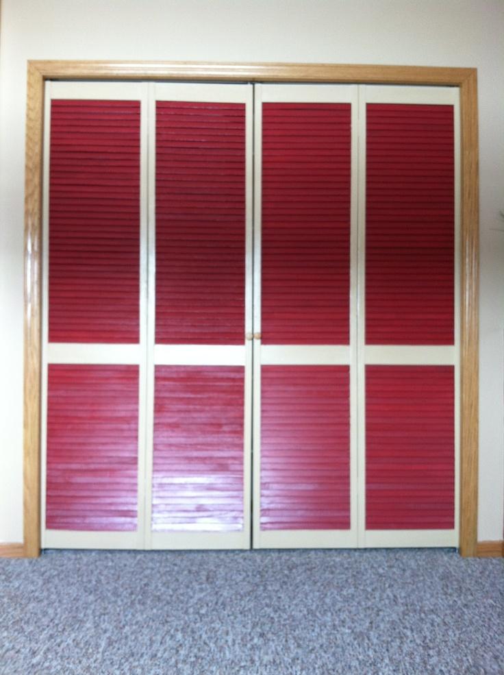 Closet doors finally put up remodeling redecorating