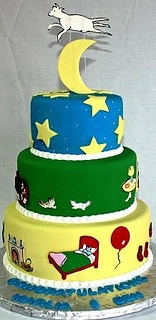 Goodnight Moon Tiered Baby Shower Cake by Jeanne AJ's Moonlight Bakery, via Flickr