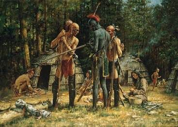 American Indian   Native   First Nations   Woodland Tribes     Pinterest Central location of the Susquehanna in Pennsylvania during the Beaver Wars  with tribes shown about
