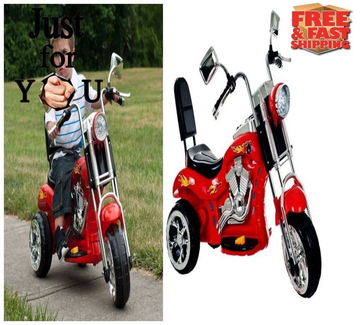 BEST Ride on Toy Wheel Trike Motorcycle Powered Christmas Gift For Kid Boy Girl #LilRider