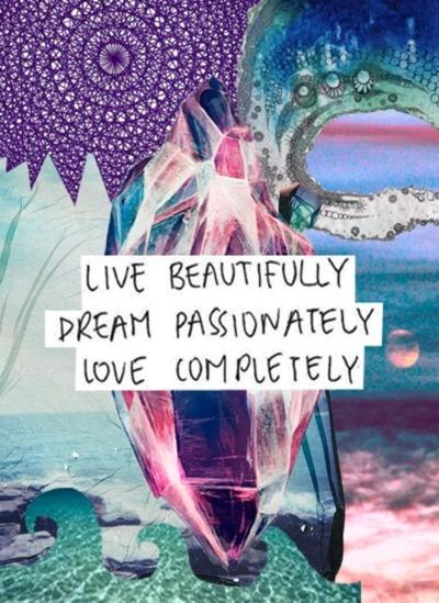 Living, loving, dreaming
