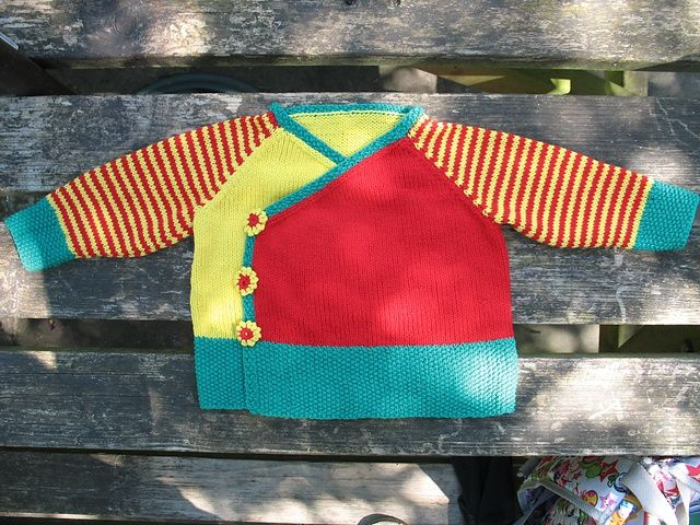 Free Pattern: Oh, baby! Kimono Wrap and Booties.
