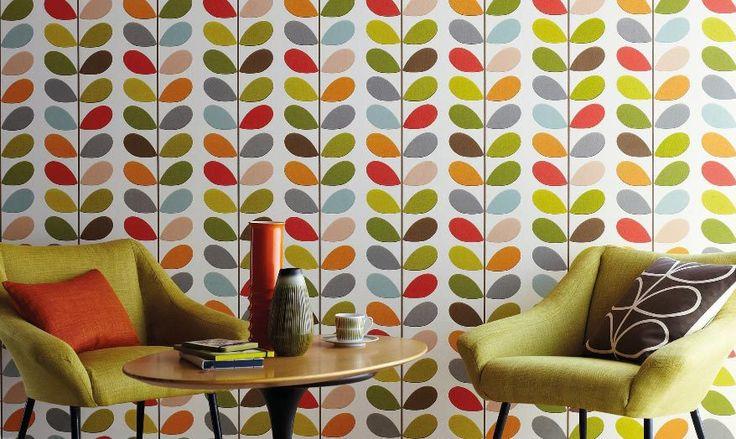 I love 70s Tapeten| Flower Power Lifestyle mit genialen Muster Tapeten