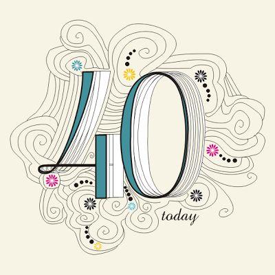 Imprimibles para fiesta de 40 años 6. - Ideas y material gratis para fiestas y celebraciones Oh My Fiesta!