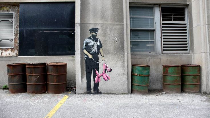 Is Banksy on the loose in TO? #Toronto #Canada