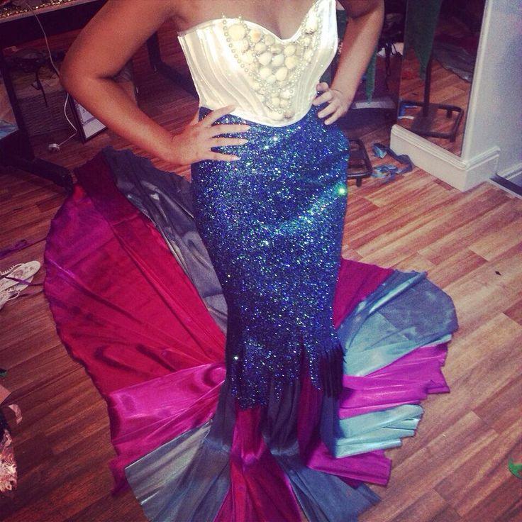 mermaid unique fashion design chio couture sea life Liverpool boutique glam