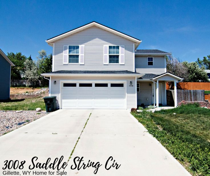 Welcome to 3008 Saddle String Cir, a turnkey two story home in Gillette, WY.