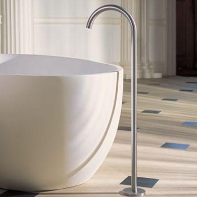 Vola | Floor Mounted Spout | Bath Spouts | Share Design | Home, Interior Design, Architecture, Design Ideas & Design Inspiration Blog