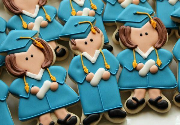 www.cakecoachonline.com - sharing...Graduation Cookies {Sugarbelle}