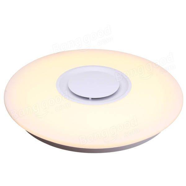 24W Modern Flush Mount LED Ceiling Light Indoor Lamp Fixture with Music Bluetooth Speaker AC85-265V Sale - Banggood.com