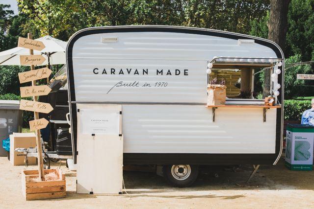 Caravan Made Barcelona Food Truck Van Van Market