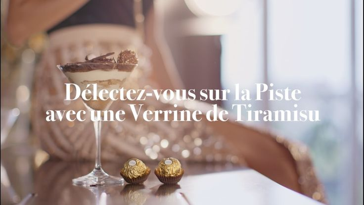 L'atelier des fètes de Ferrero Rocher France Recette Tiramisu https://www.youtube.com/watch?v=_Ru8OM7gg1Y