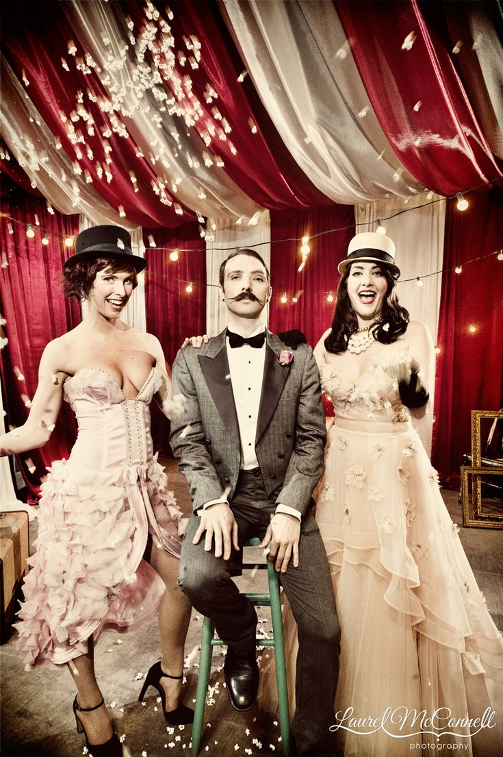 Get Hitched Give Hope goes Vintage Circus Cra-zay-zey. » Laurel McConnell Photography