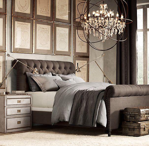 Stonewashed Belgian Linen Bedding Collection   Bed Linens   Restoration Hardware