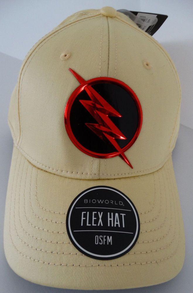 7303387e525bf2 The Flash Reverse Flash DC Comics Flex Hat Nwt #DCComics #BaseballCap
